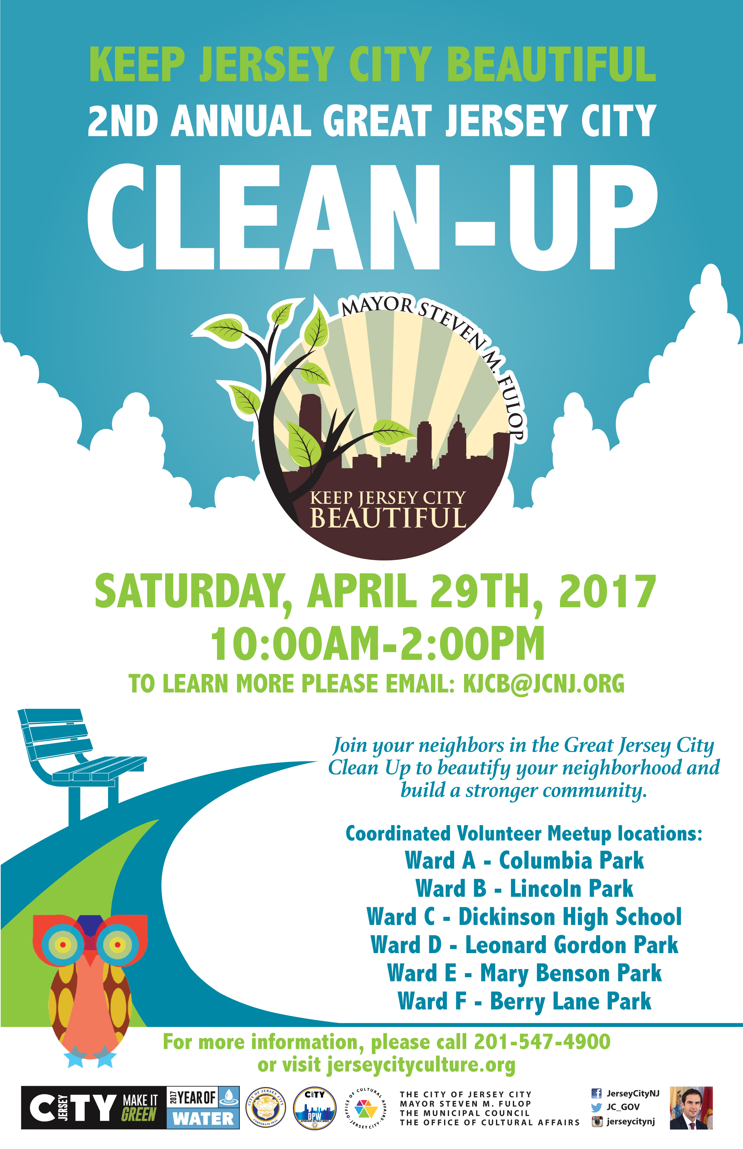 Great Jersey City Clean Up The Office Of Cultural Affairs