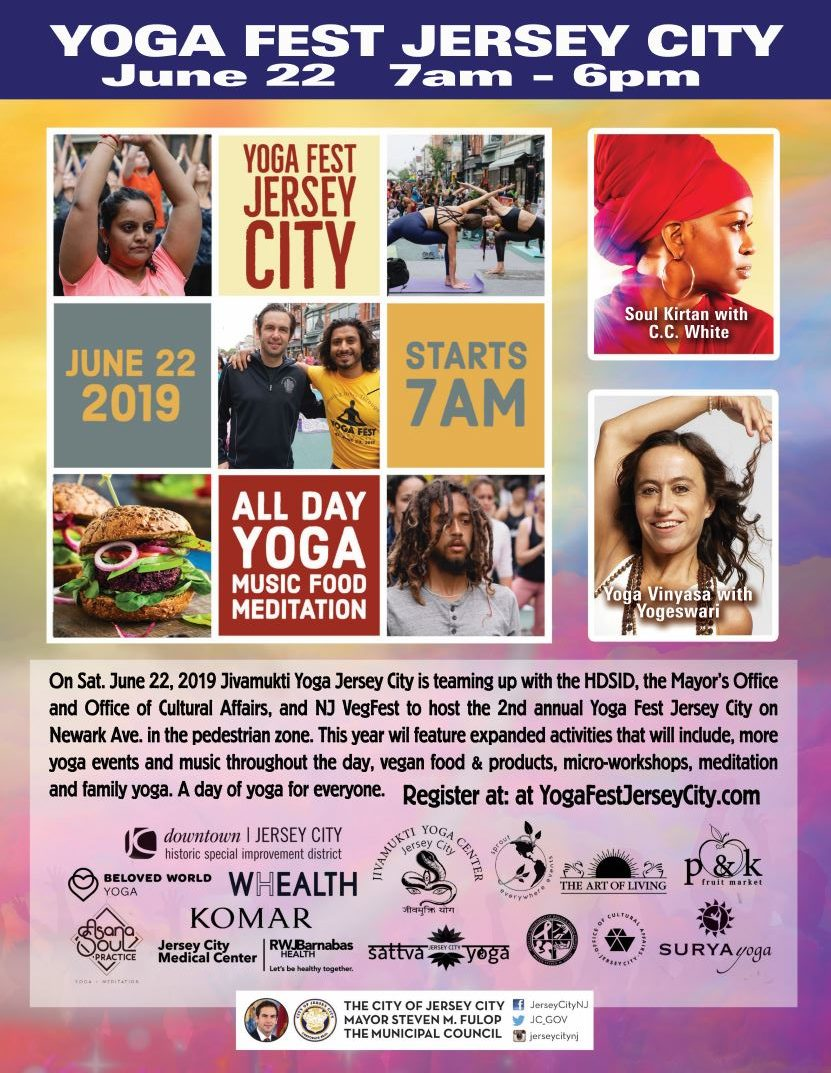 Yoga Fest Jersey City - The Office of Cultural Affairs