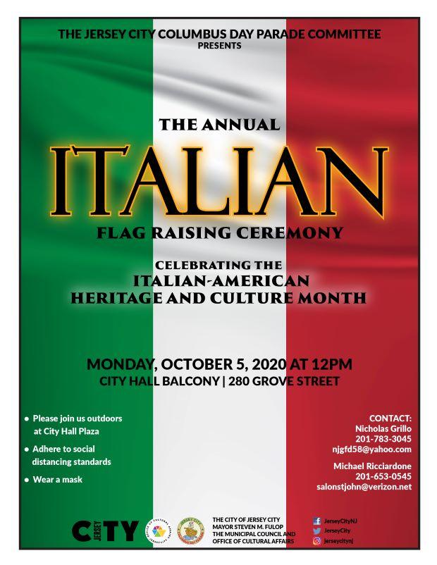 Italian Flag Background Vertical stripes of Green White & Red