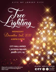 City Hall Annex Tree Lighting Flyer