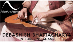 Debashish Bhattacharya performing