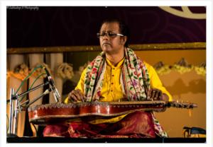 Picture of Debashish Bhattacharya performing