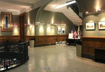 Rotunda Gallery City Hall Pictured