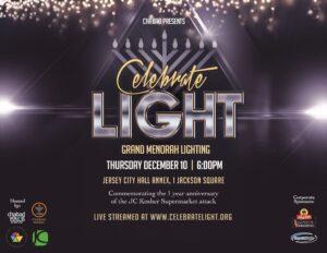 Chabad Grand Menorah Lighting Flyer