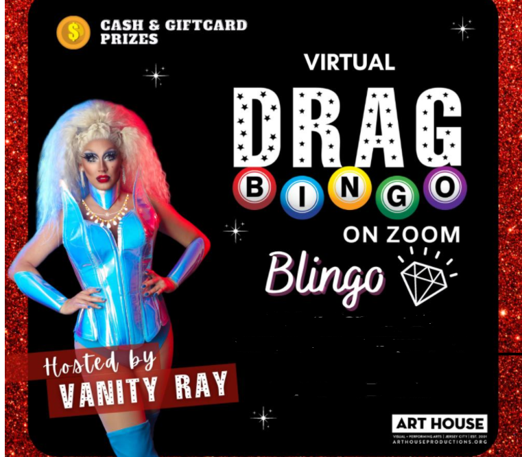Drag Bingo with Vanity Ray
