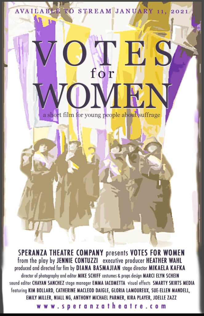 Votes for Women Flyer