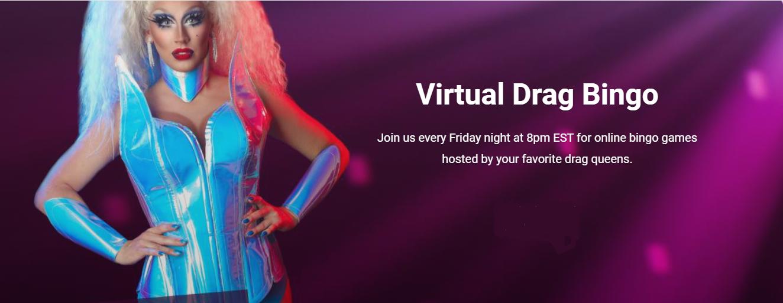 Virtual Drag Bingo with Vanity Ray