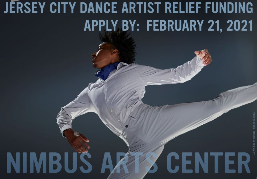 Nimbus Announces Jersey City Dance Artist Relief Funding to Provide Covid Relief